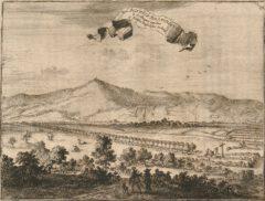 Acidulous spring with avenue near Driburg, c. 1672.