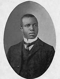 Scott Joplin around 1903.