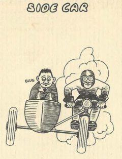 Side Car. Jean Robert Meyer. Bottoms Up. 1934, page 9.