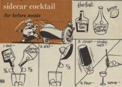 Sidecar Cocktail. Robert H. Loeb, Jr. Nip Ahoy. Page 88.