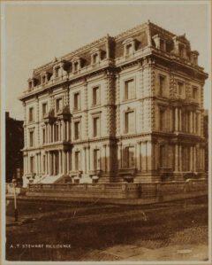 Steward Mansion in the 1870s.