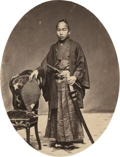 Tateishi Onojiro Noriyuki in 1860.