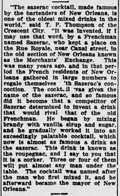 The Evening Times, 12. January 1911, page 3.
