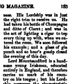 The Sporting Magazine, Vol. 21, No. 123, December 1827, page 133.