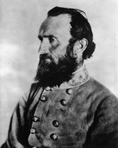 Thomas Jonathan Jackson in 1863.