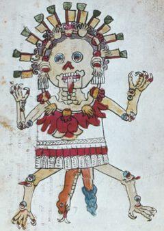 Tzitzimitl, from the Codex Magliabechano.