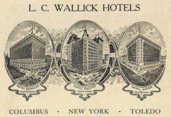 Wallick Hotels.