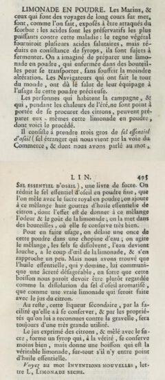 Anonymus (Henri Gabriel Duchesne): Dictionnaire de l'industrie. 1776, page 494-495.