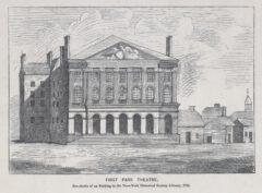 First Park Theatre, 1796.