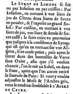 Nicolas de Bonnefons: Le iardenier françois. 1651. Page 312.