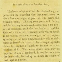 R. Shannon: Practical observations on the operation and effects of certain medicines. London, 1794. Page 336.