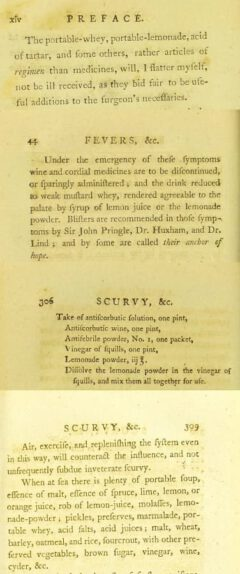 R. Shannon: Practical observations on the operation and effects of certain medicines. London, 1794. Page xiv, 44, 306, 309.
