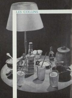 Marcel Pace: Nos meilleures boissons. 1954. John or Tom Collins.