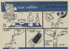 Robert H. Loeb: Nip Ahoy. 1954. Page 28. Tom Collins.