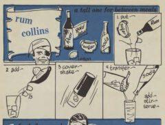 Robert H. Loeb: Nip Ahoy. 1954. Page 48. Rum Collins.