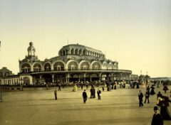 The Kursaal in Oostende, about 1895.