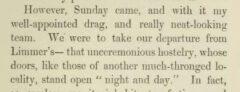 George John Whyte-Melville: Tilbury Nogo. London, 1854. Page 221.