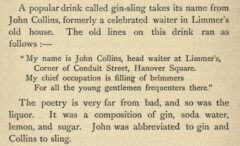 James Mew: Drinks of the World. 1892, page 140.