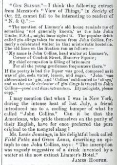 Notes and Queries. London. Nr. 49, 4. December 1880. Page 444.