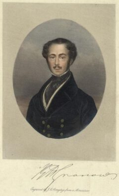 Rees Howell Gronow, circa 1840.