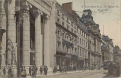 St. Lawrence Hall, St. James St., Montreal.
