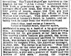 The New York World, 1. August 1882, page 7.