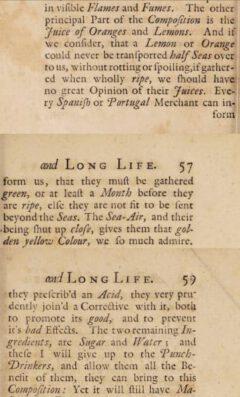 George Cheyne: An essay of health and long life. 1724, page 56, 57, 59.