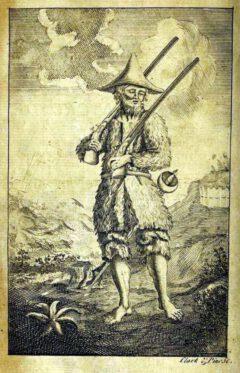 Robinson Crusoe. Daniel Defoe: The life and strange surprizing adventures of Robinson Crusoe. Lonon, 1719.