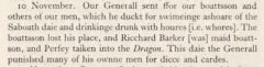 Sir William Foster: The Voyage of Thomas Best to the East Indies, 1612-14. 1934, page 116.