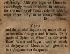 W. Hughes: The American physitian, 1672, page 49-50.