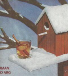 Anonymus: 25 recetas selectas para cocktails. 1945. Toddy Caliente.