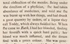 David Kinneir: A new essay on the nerves. London, 1739, page 180.