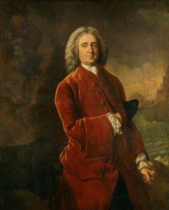 Edward Vernon, circa 1753.