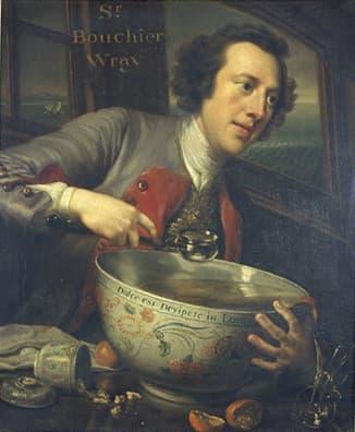 George Knapton Bourchier Wray, 6th Baronet, 1744.
