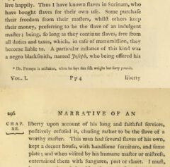 John Gabriel Stedtmann: Narrative, of a five years' expedition ... . London, 1796, page 295-296.