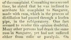 The London medical gazette. Vol. X. London, 1832, page 690.